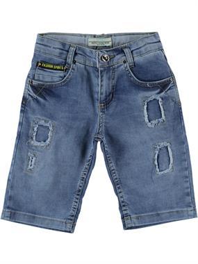 Mutlu Ages 3-7 Blue Jeans Capri Boy