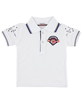 Popito Boy T-Shirt White 1-5 Years