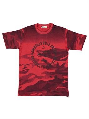 Popito Mr. Boy Icon T-Shirt Red Age 10-12