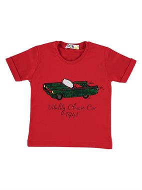 Mr.icon Mr. Boy Icon T-Shirt In Red 1-5 Years