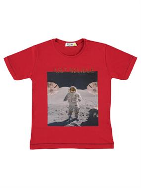 Mr.icon Mr. Boy Icon With A Red T-Shirt 5-8 Years