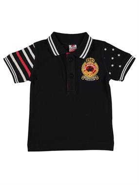 Popito Boy Black T-Shirt 1-5 Years
