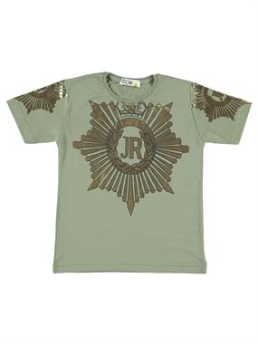 Mr.icon Mr. Khaki Boy Icon T-Shirt 5-8 Years