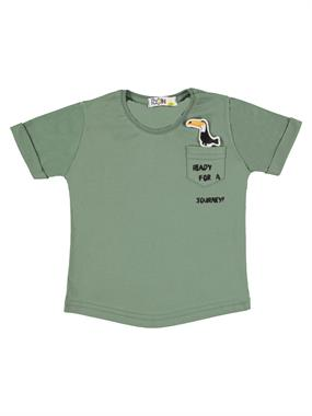 Mr.icon Mr. Boy Icon T-Shirt Yesil 1-5 Years