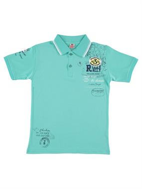 Popito Boy T-Shirt Mint Green 9-12 Years