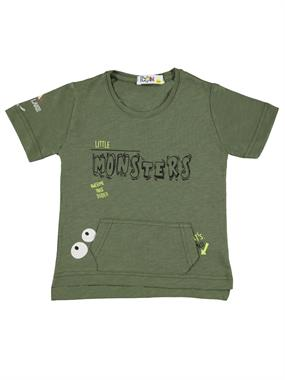 Mr.icon Mr. Boy Icon T-Shirt Khaki Age 1-5