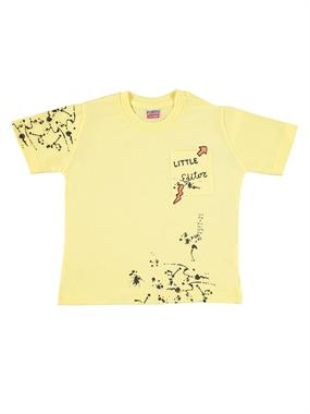 Popito Boy T-Shirt 1-5 Years Yellow