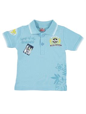 Popito Boy T-Shirt Turquoise 1-5 Years