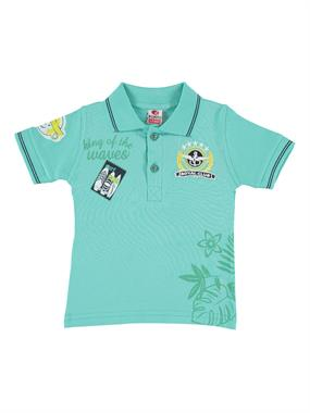 Popito Boy T-Shirt Age 1-5 Mint Green