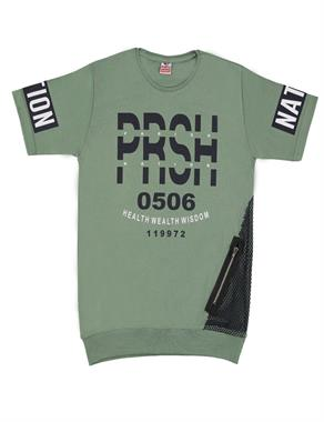 Popito Boy T-Shirt Yesil 9-12 Years