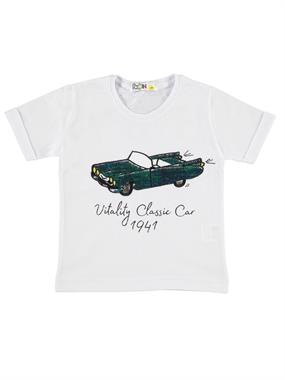 Mr.icon Mr. Boy Icon T-Shirt White 1-5 Years