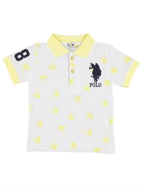 Mr.icon Mr. Boy Icon T-Shirt 1-5 Years Yellow