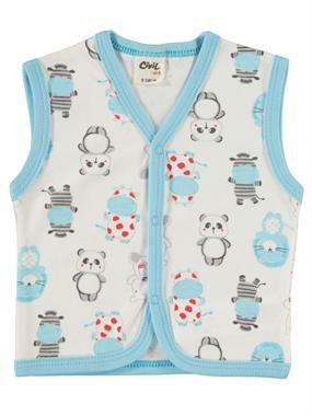 Civil Baby 0-9 Months Baby Boy Vest Turquoise