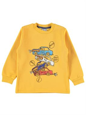 Civil Boys 2-5 Years Boy Sweatshirt Mustard