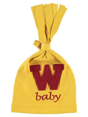 Albimini Yellow Baby Hat 0-6 Months