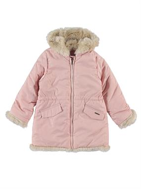 Civil Girls The Powder Pink Girl Hooded Jacket Age 2-5