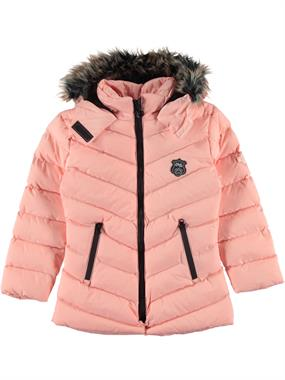 Civil Girls The Civil Boys Girls Hooded Coat Age 6-9 Powder