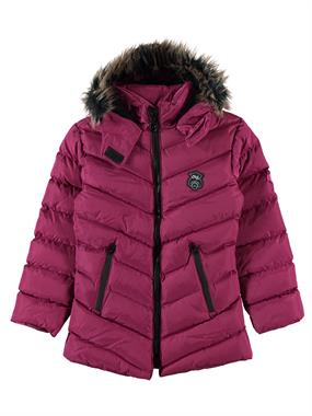 Civil Girls The Civil Boys Girls Pink Hooded Coat Age 6-9