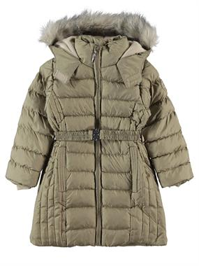 Civil Girls Beige Hooded Jacket Age 6-9 Girl