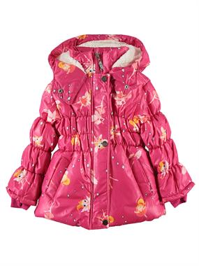 Civil Girls 2-5 Years Girl Fuchsia Hooded Jacket