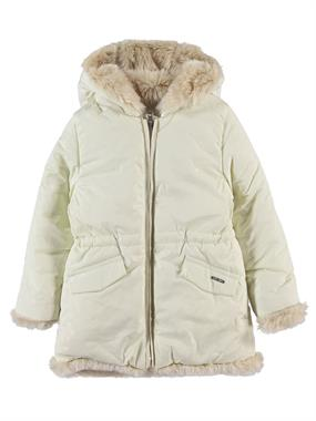 Civil Girls Girl Hooded Jacket White 2-5 Years