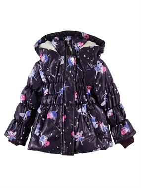 Civil Girls 2-5 Years Purple Hooded Jacket Girl