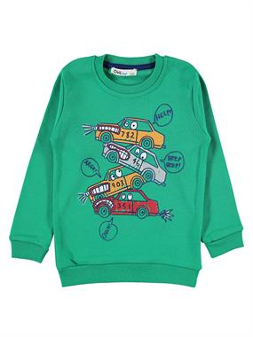 Civil Boys Yesil 2-5 Years Boy Sweatshirt