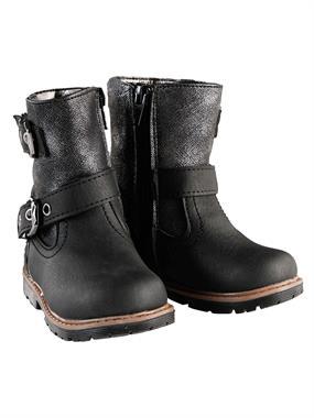 Elifsu Boots Boy Girl Black Numbers 21-25