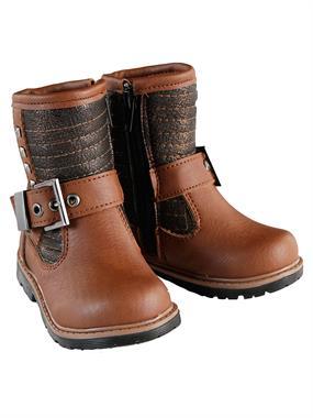 Elifsu Brown Boy Girl Boots 21-25 Number