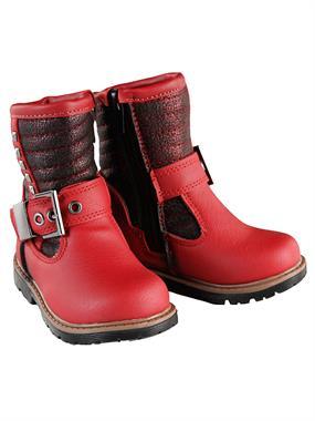 Elifsu Boy Girl Boots 21-25 # Red