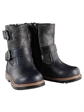 Elifsu Navy Blue Boy Girl Boots 21-25 Number