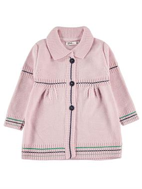 Civil Girls Girl's Pink Knitted Cardigan 2-5 Years