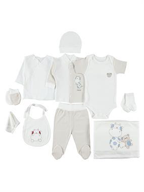 Bestido 0-3 months baby boy Beige 10 Zibin Team