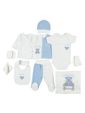Bestido 0-3 months Baby Boy Blue 10 Zibin Team