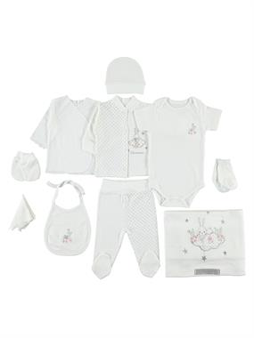 Bestido 0-3 months baby girl Gray 10 Zibin Team