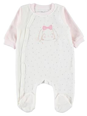 Nenny Baby 0-6 Months Baby Girl Oh Baby Baby, Booty Tulum Chirping Ecru-Pink