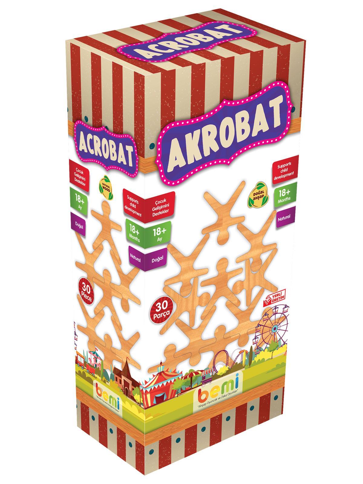Bm0060 Bemi Toys Acrobats Oyunu 18 Ay