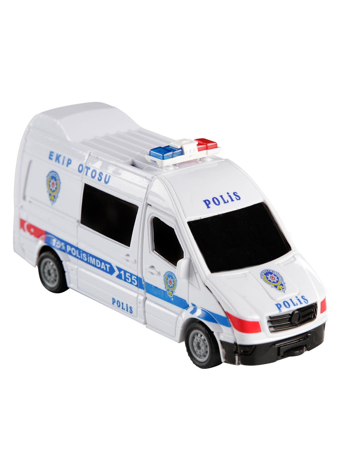 Can Oyuncak Donusebilen Robot Polis 3 Yas Beyaz Fiyati Cn1456